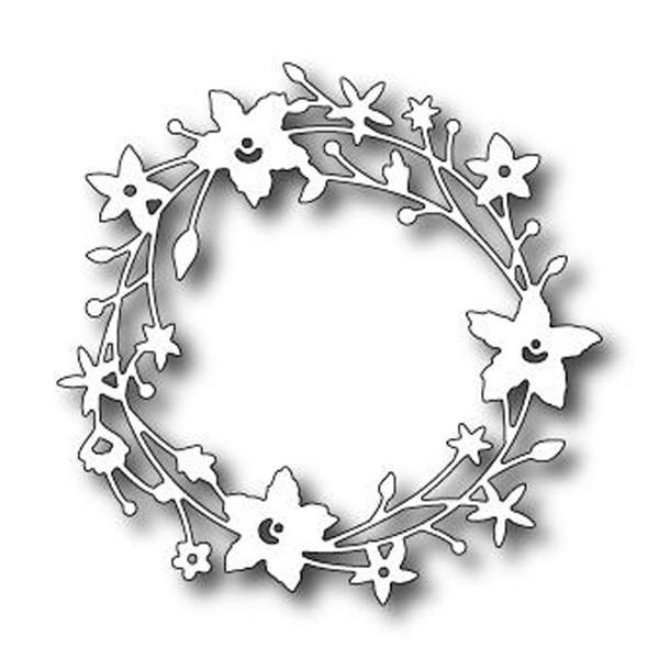 Catalina wreath die for Outil de decoupe