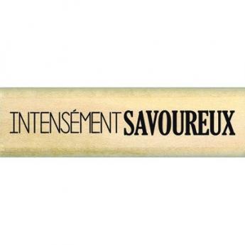 Tampon bois INTENSEMENT SAVOUREUX