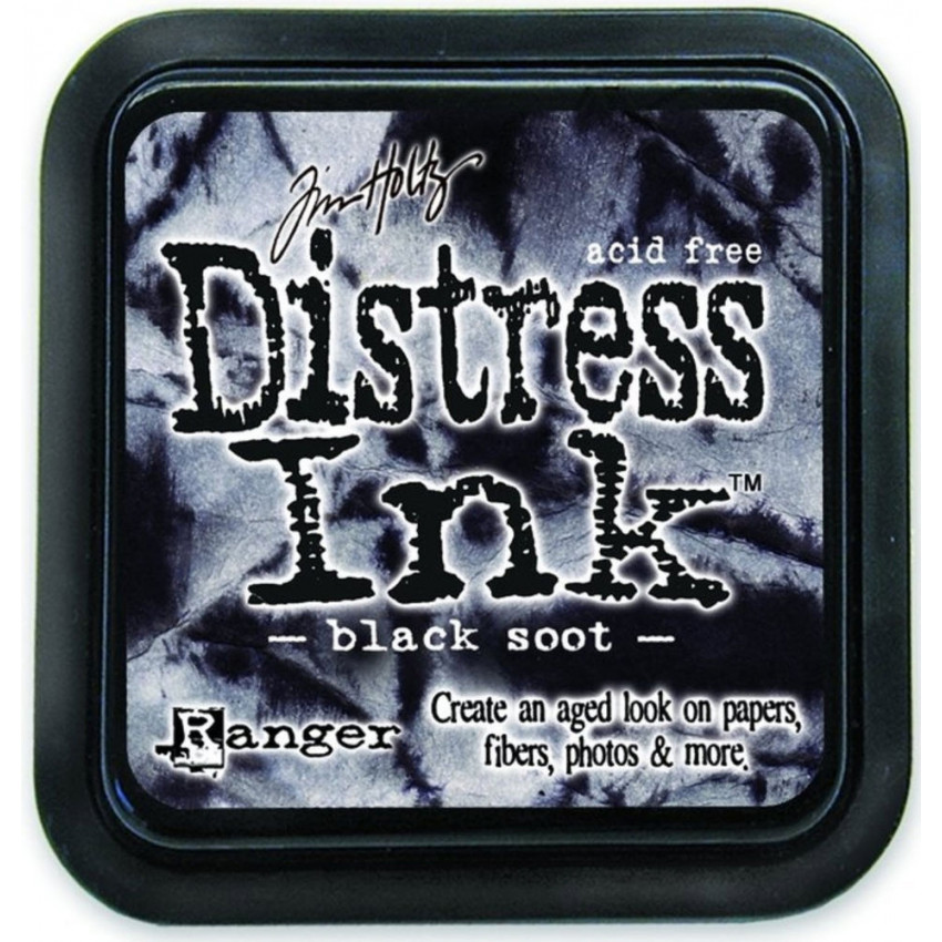 Encre Distress BLACK SOOT