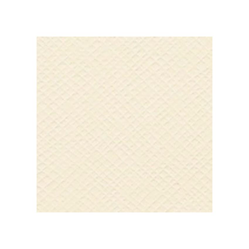 Papier uni 30,5x30,5 Cream Puff
