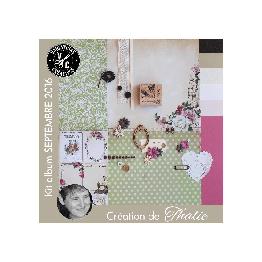 Kit Album SEPTEMBRE 2016