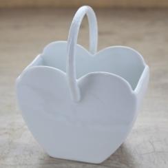 PROMO de -50% sur Panier en coeur Maison de la Porcelaine