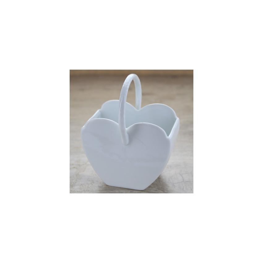 PROMO de -80% sur Panier en coeurOK Maison de la Porcelaine