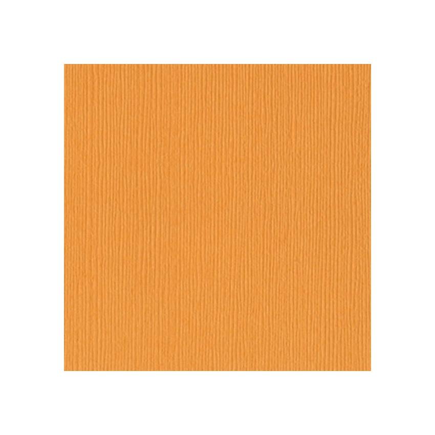 Papier uni 30,5x30,5 Mango