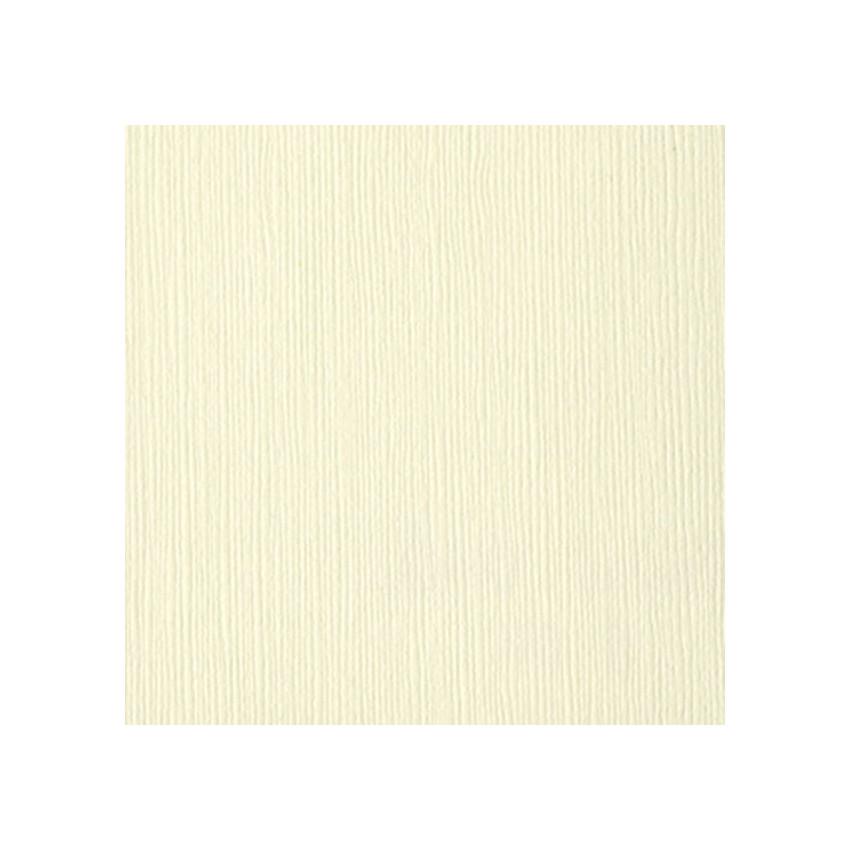 Papier uni 30,5 x 30,5 cm Bazzill FRENCH VANILLA par Bazzill Basics Paper. Scrapbooking et loisirs créatifs. Livraison rapide...