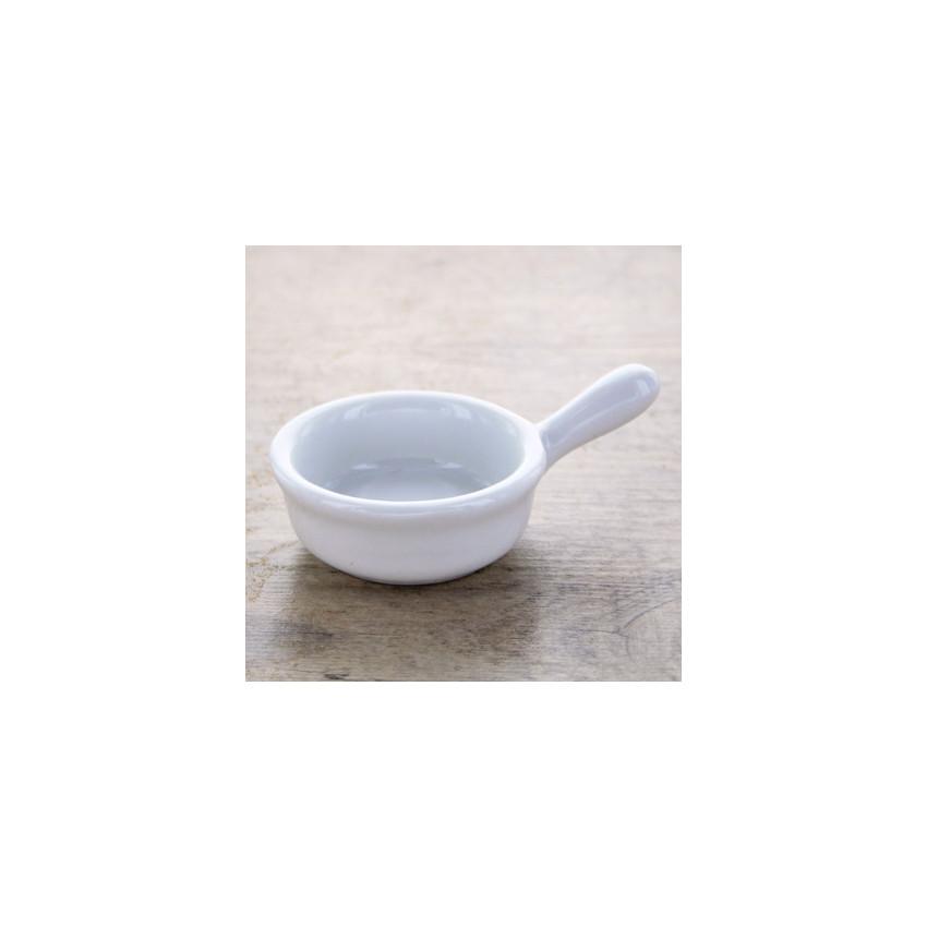 Petit poëlon porcelaine