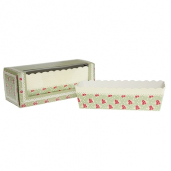 Mini moules à cake en carton