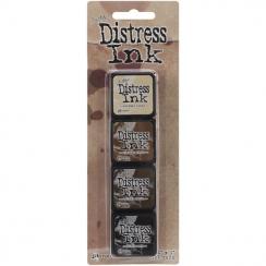 Encres Mini Distress KIT n°3 par Ranger. Scrapbooking et loisirs créatifs. Livraison rapide et cadeau dans chaque commande.