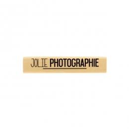 Tampon bois JOLIE PHOTOGRAPHIE