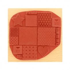 Tampon bois INSPIRATION SCANDINAVE par Florilèges Design. Scrapbooking et loisirs créatifs. Livraison rapide et cadeau dans c...