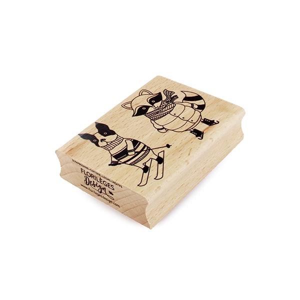 Tampon bois COPAINS D'HIVER