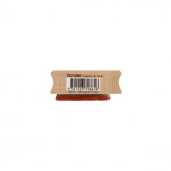 Tampon bois COPAINS DE NOËL par Florilèges Design. Scrapbooking et loisirs créatifs. Livraison rapide et cadeau dans chaque c...