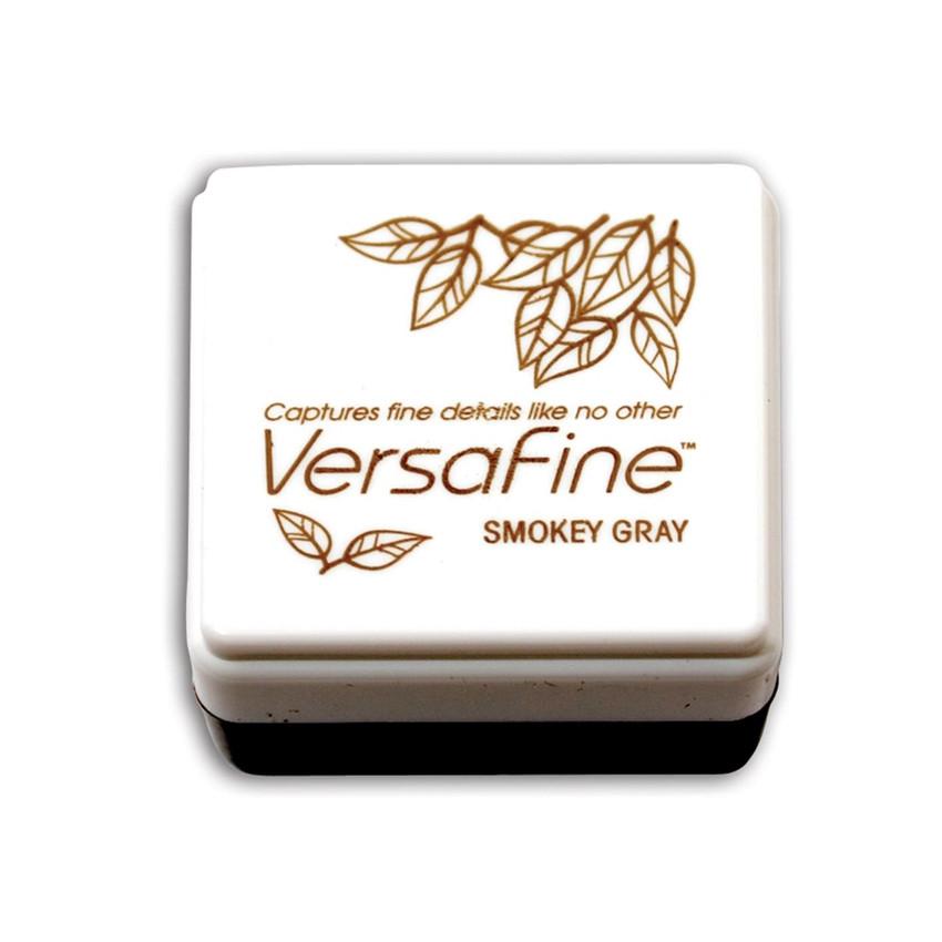 Encre Versafine Cube SMOKEY GRAY  par Tsukineko. Scrapbooking et loisirs créatifs. Livraison rapide et cadeau dans chaque com...