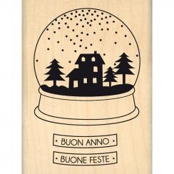 Tampon bois italien BUON ANNO