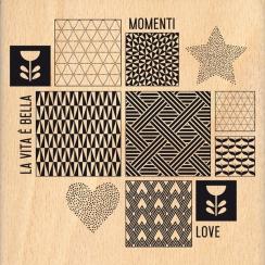 Parfait pour créer : Tampon bois italien ISPIRAZIONE SCANDINAVA par Florilèges Design. Livraison rapide et cadeau dans chaque...