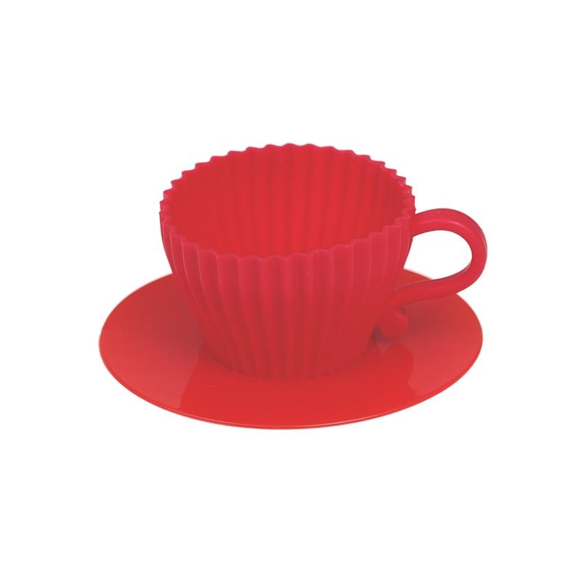 PROMO de -70% sur Tasses à cupcake rougesOK Rex