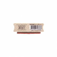 Tampon bois NOËL AUX 1000 ÉTOILES -Capsule Novembre