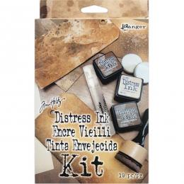 Kit découverte DISTRESS INK par Ranger. Scrapbooking et loisirs créatifs. Livraison rapide et cadeau dans chaque commande.