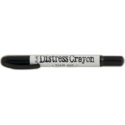 Pastel Distress Crayon BLACK SOOT