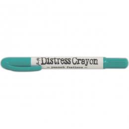 Pastel Distress Crayon PEACOCK  FEATHERS