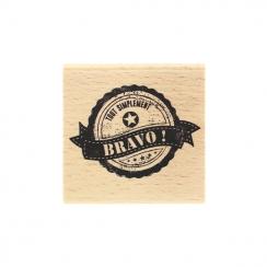 Tampon bois SIMPLEMENT BRAVO