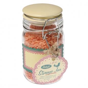 Medium ceramic top storage jar