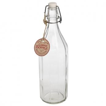 Grande bouteille en verre