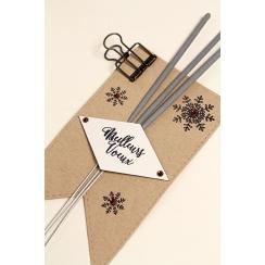 Tampons clear BONNE SANTÉ par Florilèges Design. Scrapbooking et loisirs créatifs. Livraison rapide et cadeau dans chaque com...