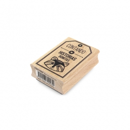 Tampon bois espagnol BONITAS HISTORIAS