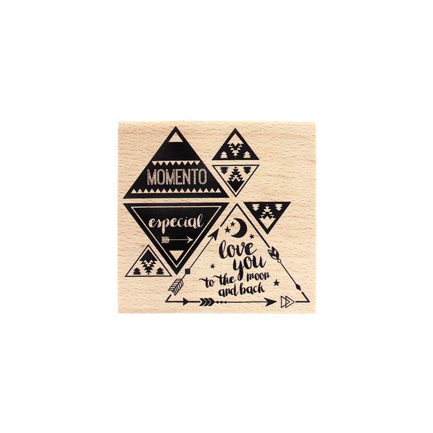 Commandez Tampon bois espagnol MOMENTO ESPECIAL Florilèges Design. Livraison rapide et cadeau dans chaque commande.