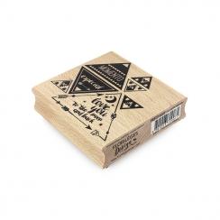 Tampon bois espagnol MOMENTO ESPECIAL par Florilèges Design. Scrapbooking et loisirs créatifs. Livraison rapide et cadeau dan...
