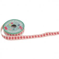Ruban vintage RED DAISY par Rex. Scrapbooking et loisirs créatifs. Livraison rapide et cadeau dans chaque commande.