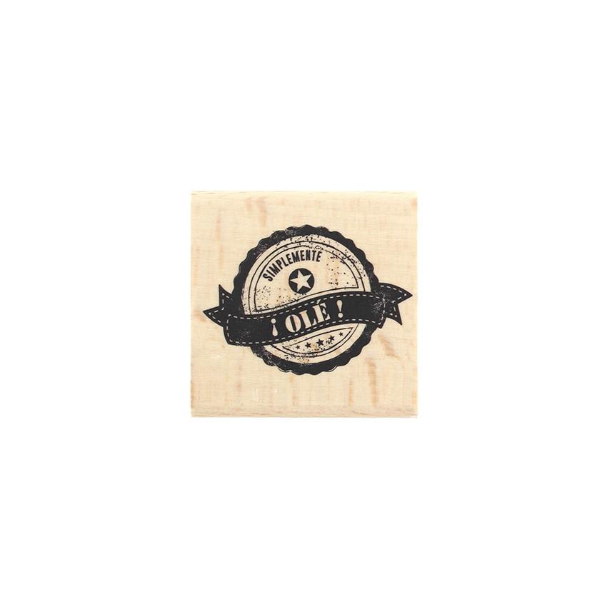 Tampon bois espagnol SIMPLEMENTE OLÉ