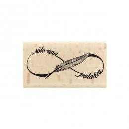 Tampon bois espagnol SÓLO UNA PALABRA par Florilèges Design. Scrapbooking et loisirs créatifs. Livraison rapide et cadeau dan...