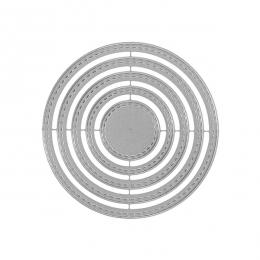 Outils de découpe CERCLES BASIQUES par Florilèges Design. Scrapbooking et loisirs créatifs. Livraison rapide et cadeau dans c...