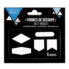 PROMO de -60% sur Outils de découpe CINQ FORMES Florilèges Design