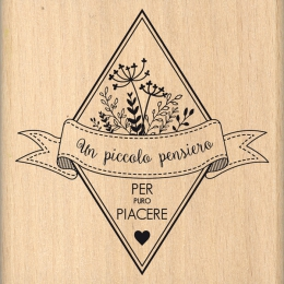 Tampon bois italien Per puro piacere