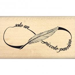 Tampon bois italien Parole infinite par Florilèges Design. Scrapbooking et loisirs créatifs. Livraison rapide et cadeau dans ...