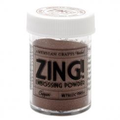 Parfait pour créer : Poudre à embosser ZING COPPER METALLIC par American Crafts. Livraison rapide et cadeau dans chaque comma...