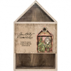 Maison en bois à décorer HOUSE VIGNETTE BOX