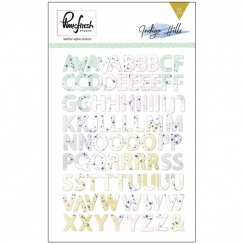 Alphabet stickers faux cuir INDIGO HILLS