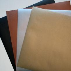 Papier effet métal brossé ARGENT