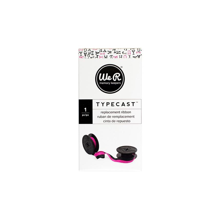 Ruban encreur pour machine à écrire Typecast rose MAGENTA
