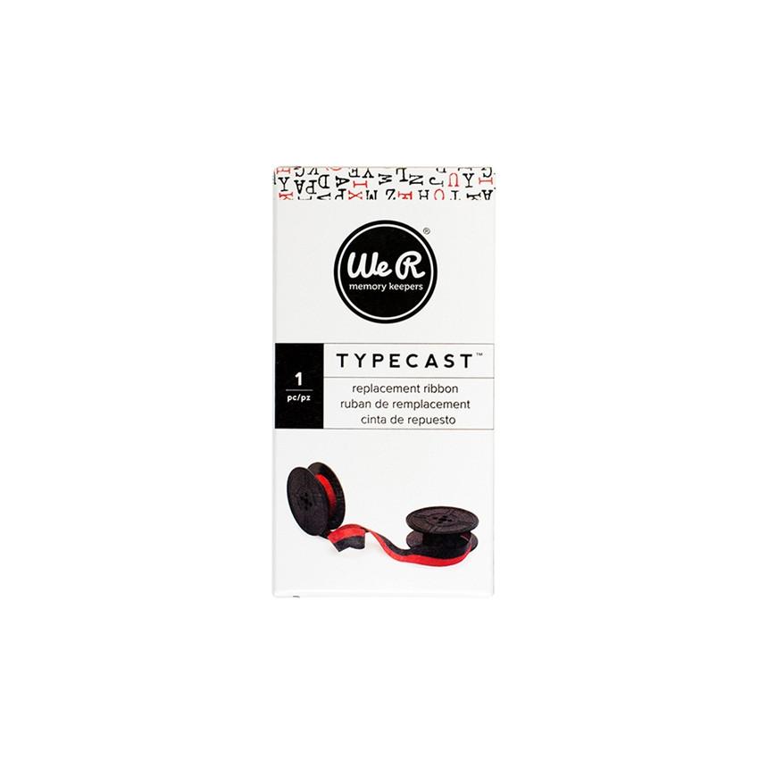 Ruban encreur pour machine à écrire Typecast rouge RED par We R Memory Keepers. Scrapbooking et loisirs créatifs. Livraison r...