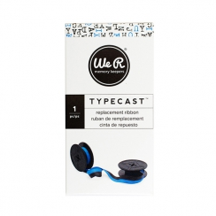 Ruban encreur pour machine à écrire Typecast bleu BLUE par We R Memory Keepers. Scrapbooking et loisirs créatifs. Livraison r...