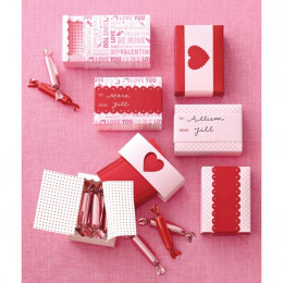 VALENTINE -MINI MATCH BOX