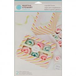 Boites à cupcakes Modern Festive par Martha Stewart. Scrapbooking et loisirs créatifs. Livraison rapide et cadeau dans chaque...