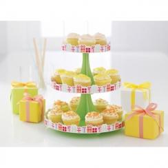 PROMO de -60% sur Présentoir à cupcakes Modern Festive Martha Stewart