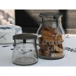 """Petit pot """"Le grand café"""" par Chic Antique. Scrapbooking et loisirs créatifs. Livraison rapide et cadeau dans chaque commande."""