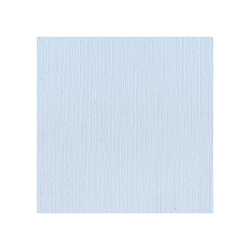 Papier uni 30,5 x 30,5 Powder Blue